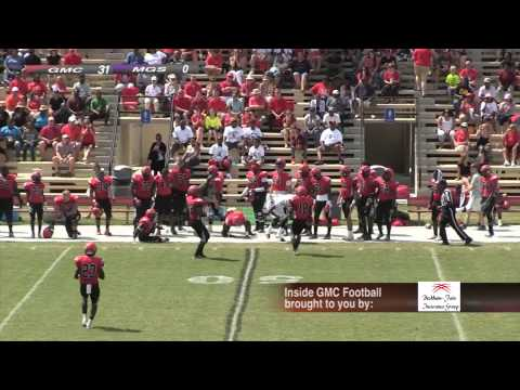 2014 Inside GMC Football Middle Georgia College Game 4