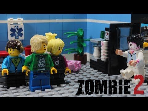 Lego Zombie Infection Episode 2 Stop Motion Animation