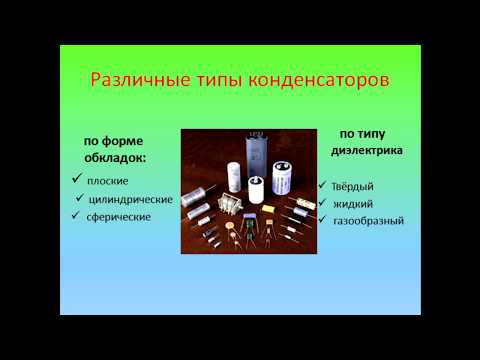 Физика 8 класс Конденсатор.  Электроёмкость конденсатора