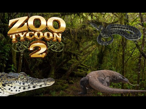 Zoo Tycoon 2: Reptile House Exhibit Speed Build