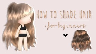 Gambar cover 「 How to Shade/Edit Gacha Hair 」| For beginners | Tutorial | 250 sub special |