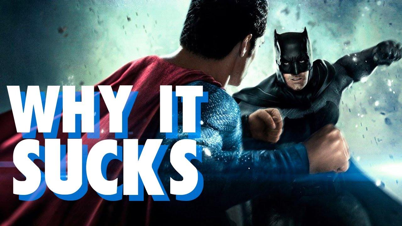 Batman v Superman - The Worst Superhero Movie Ever Made?