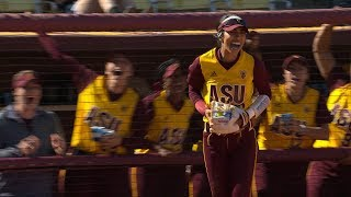 Recap: Arizona State softball captures series from Washington behind Giselle 'G' Juarez gem