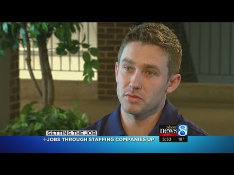 Getting The Job: Staffing Companies Offer Work, Options