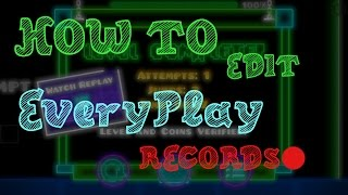 [TUTORIAL #1] How to edit an EveryPlay record! - FillipsMen.
