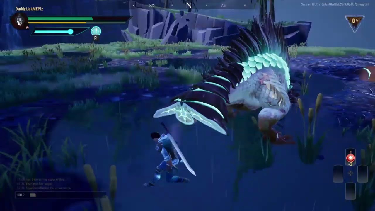 Playing Dauntless With Memes Youtube