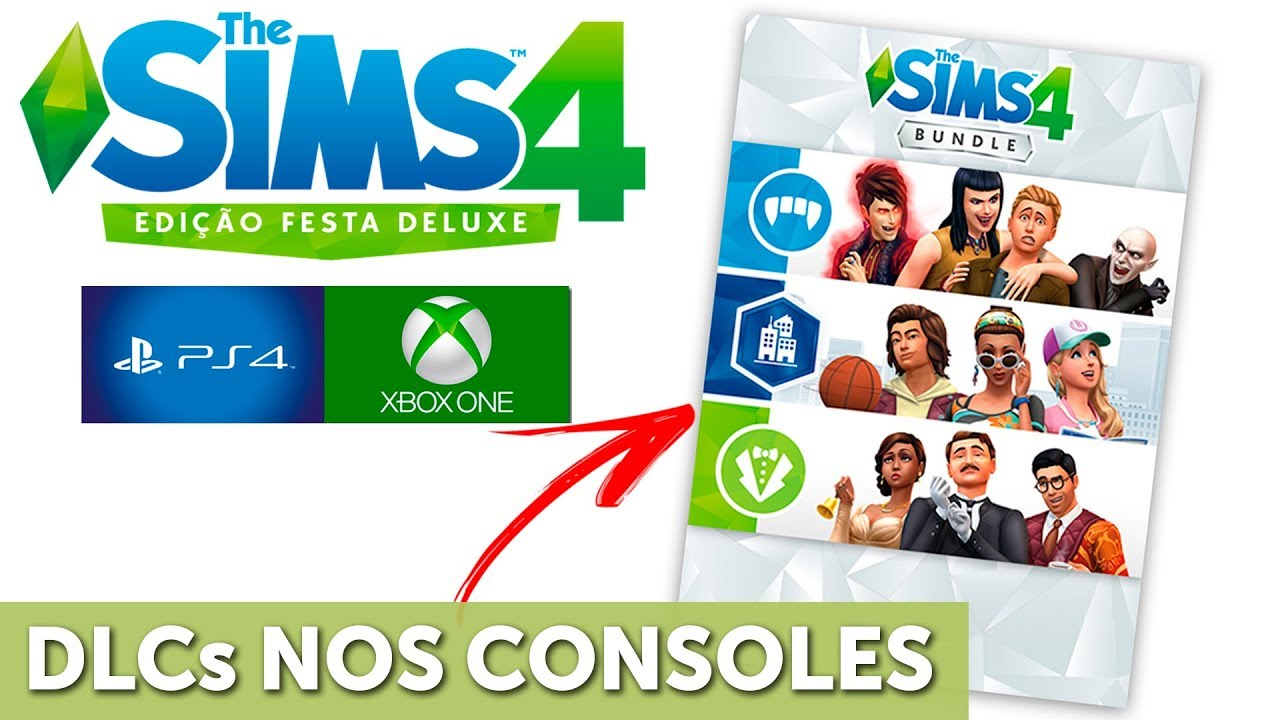 Novo Bundle De Dlc Para O The Sims 4 Ps4 E Xbox One Youtube