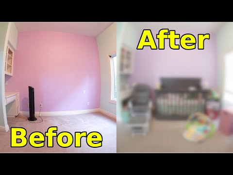 **NEW FATHER** Builds Their FIRST Baby's Room! (2019) thumbnail