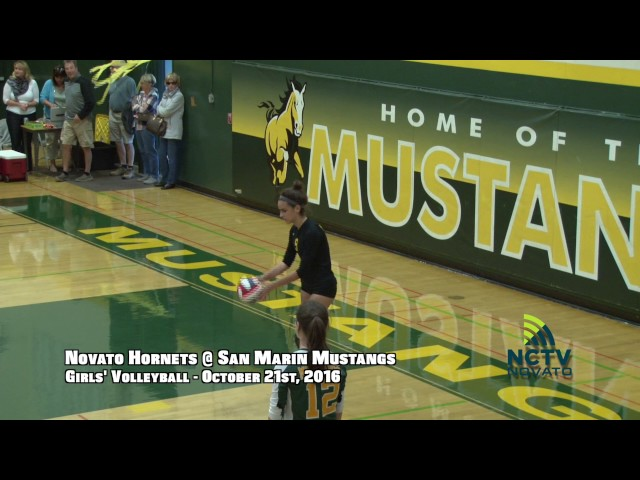 GotW | NHS @ SMHS | Girls' Varsity Volleyball ( 10-21-2016 )