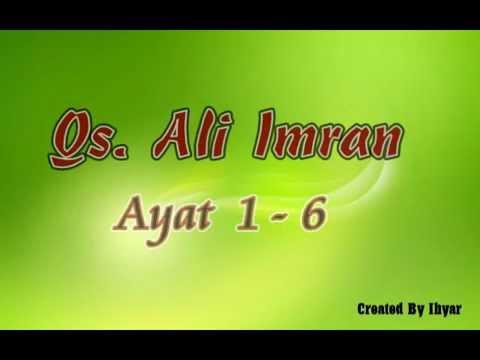 Hafalan Surat Ali Imran 1-6