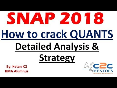 SNAP QUANTS Detailed Analysis & Strategy