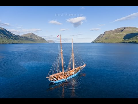 Visiting the Faroe Islands with a drone