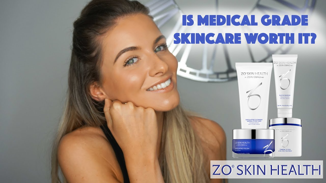 Is Medical Grade Skincare Worth It Zo Skin Health Complexion Clearing Program Youtube