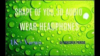 SHAPE OF YOU 3D AUDIO WEAR HEADPHONES