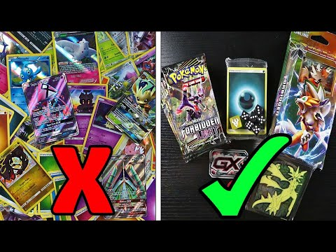 HOW TO BUILD A NEW POKEMON CARD DECK THE EASY WAY! Opening & Tips