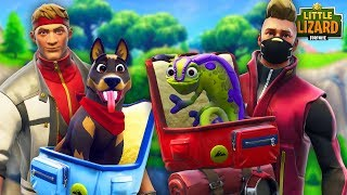 DIRE AND DRIFT SAVE THEIR NEW PETS *NEW SEASON 6* - FORTNITE SEASON 6 SHORT FILMS