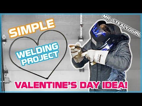 DIY Welding a Present for My Girlfriend! (Beginner Welding Project / Snowblower ASMR)