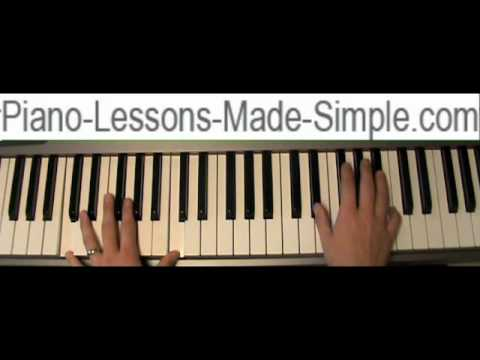 How To Play Apologize By One Republic Piano Tutorial Youtube