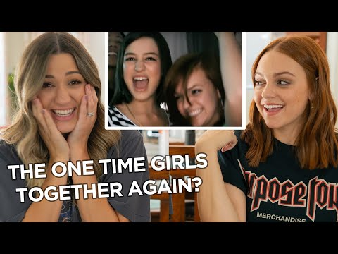IS JUSTIN BIEBER SHY? | Reacting To One Time Music Video With The Girls In One Time