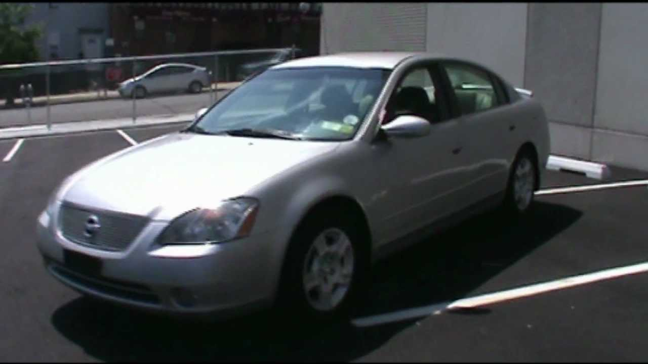 2003 nissan altima 2 5s youtube. Black Bedroom Furniture Sets. Home Design Ideas