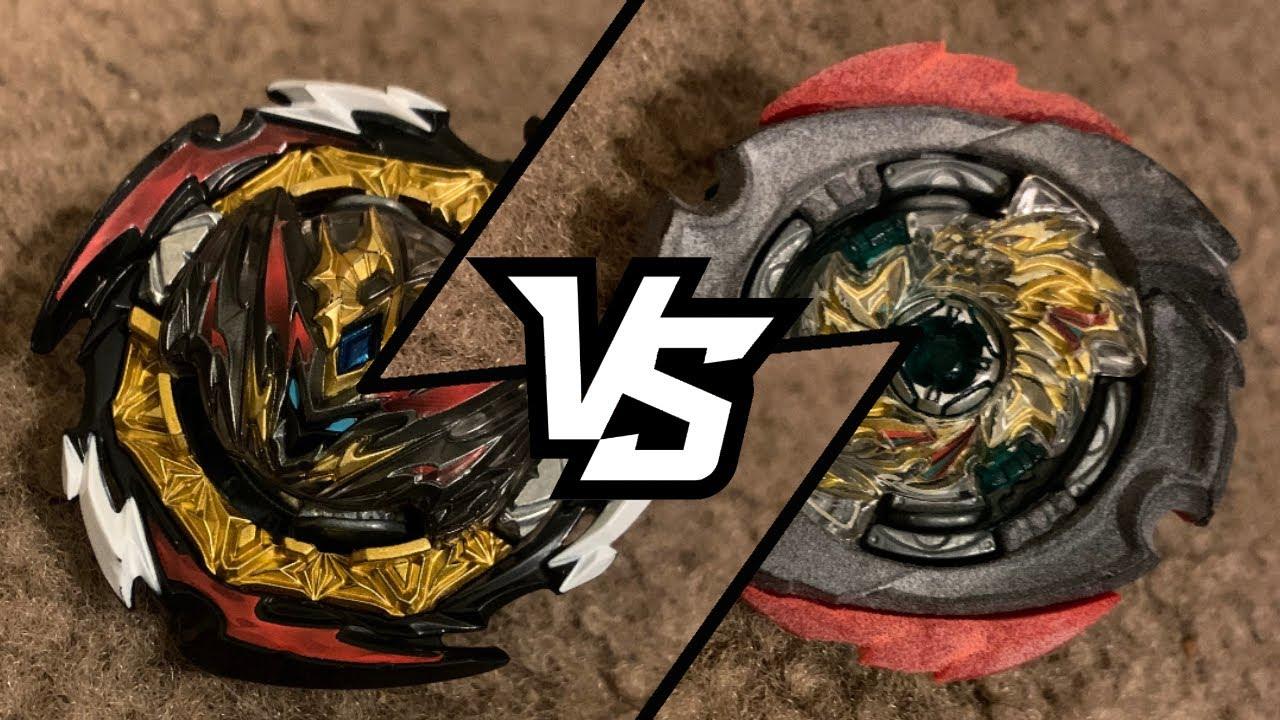 Download Ronin Hachimen VS Dynamite Belial | Beyblade Burst Dynamite Battle