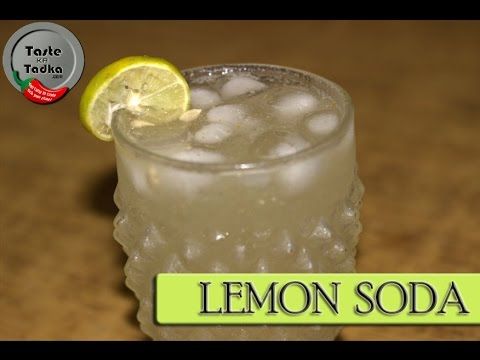 Lemon Soda - Chilled Refreshing Summer Drink - Lemonade - By Pushpa Nair