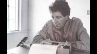 Leonard Cohen reading an excerpt from Beatiful Losers