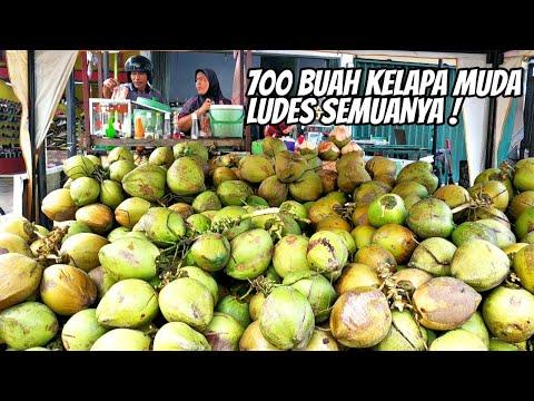 buset,-700-buah-kelapa-muda-ludes-!-1-gls-5-ribu---kuliner-jambi---harga-kere-rasa-oke