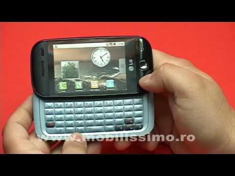 LG GW620 - recenzie video Mobilissimo.ro