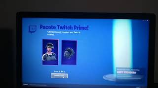 Earning my first skin on the Fortnite!