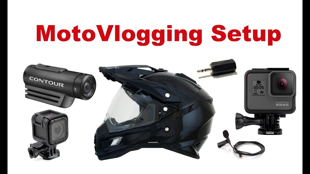 Motorcycle Helmet Camera Setup. MotoVlogging Setup. Simple is the ...