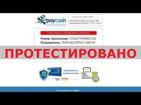 Международная организация онлайн транзакций и денежных переводов Paycash реальна? Честный отзыв.