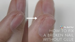 How to Fix a Broken Acrylic Nail with Glue