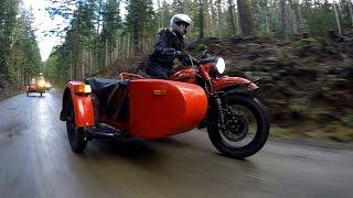 Cold-War Bike by Ural Sparks Sidecar Revival