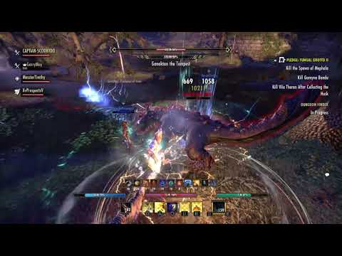 ESO dungeon , DPS Templar build still tweaking.