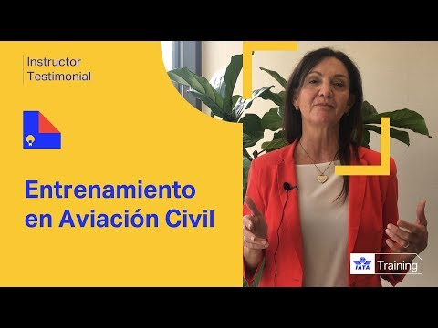 IATA Training | Entrenamiento en Aviación Civil | Instructor Testimonial