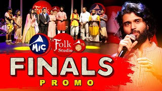 FolkStudio Grand Finale Promo | Vijay Devarakonda | Mangli | MicTv