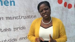 MHM Training in Kenya - Q&A with First Lady Nazi Kivutha