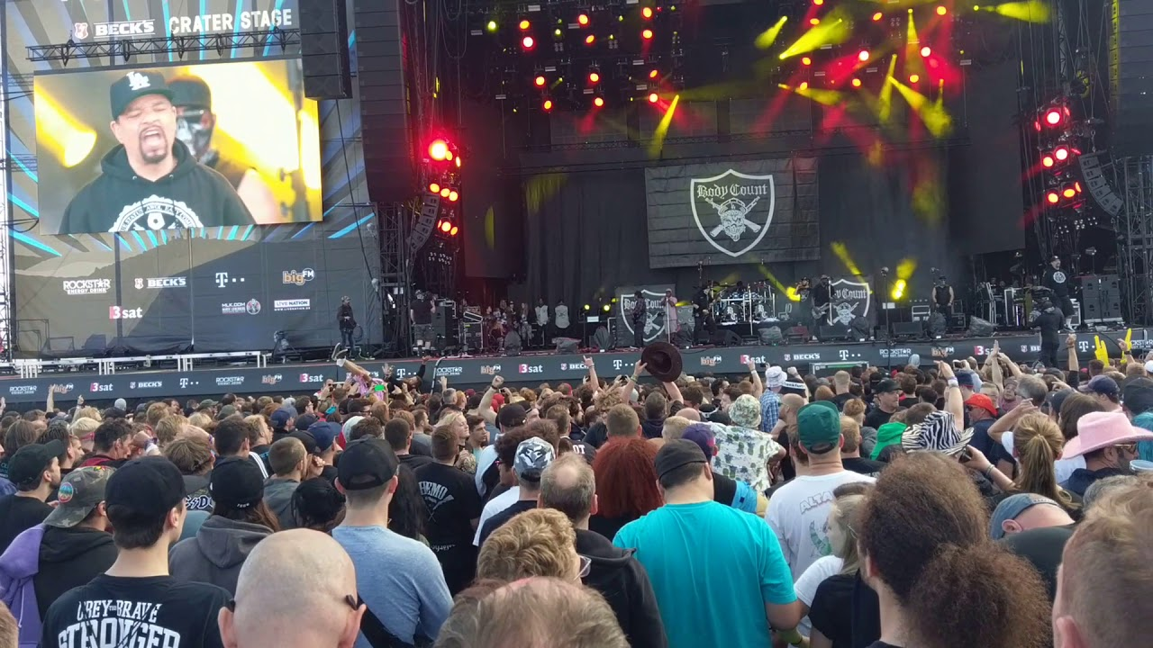 Body Count Ice T No Lives Matter Live Rock Am Ring 2018