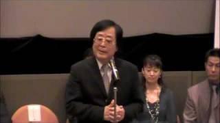 制作発表 記者会見の模様 ミュージカルオペラ 「龍馬」始動!!! URL http...