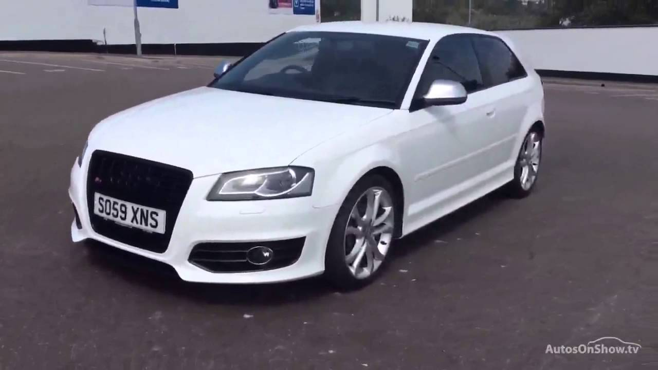 audi a3 s3 tfsi quattro white 2009 youtube. Black Bedroom Furniture Sets. Home Design Ideas
