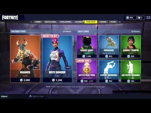Fortnite - Item Shop August 15th 2018! NEW Daily Item Shop!