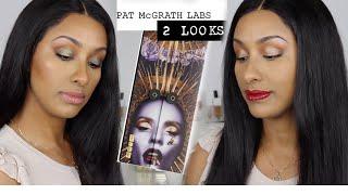 PAT McGRATH Mothership VI MIDNIGHT SUN Eyeshadow Palette | 2 LOOKS Tutorial