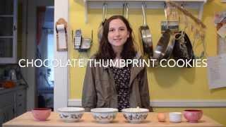 How To Make Chocolate Thumbprint Cookies (fail)-ep. 4