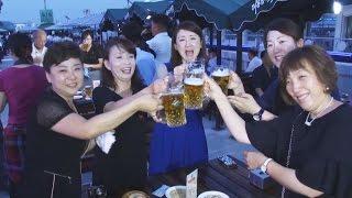 平壌でビール祭り 初開催、観光誘致など狙い