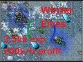 [Tibia Where to Hunt – MS/ED 130+/200+] Winter Court Elves (2.5kk/hr @ 205 with 200k/h profit)