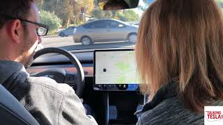 A Mildy Humorous Model 3 Ride