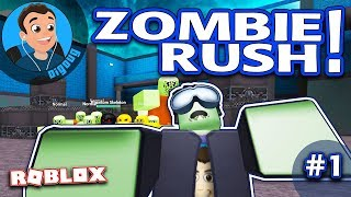 Roblox Zombie Rush : Ep 1 : First Launch