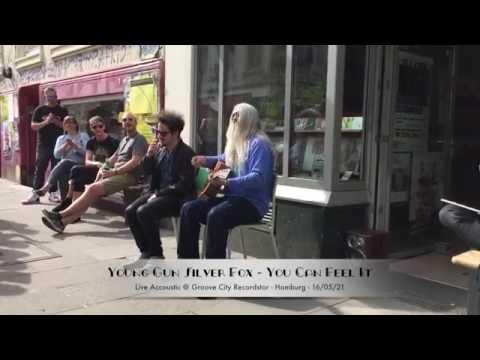 Young Gun Silver Fox - You Can Feel It - Streetgig Hamburg @ Groove City Recordstore 21/05/16