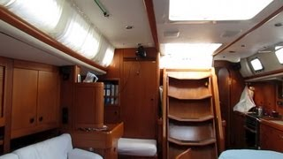 2. Cabin Tour - Offshore Sailing on Bella Luna - Swan 48 sailboat